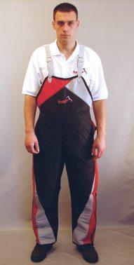 Pantaloni de protectie IPO din material sintetic marimi 48 50 52 54 56