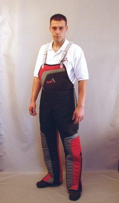 Pantaloni de protectie din material sintetic usor marimi 48 50 52 54 56