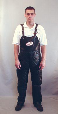 Pantaloni de protectie din piele marimi 48 50 52 54 56