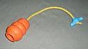 Kong mic cu snur de 30cm cu maner de plastic