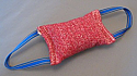 Baton 10x25cm rosu cu 2 manere