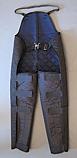 Pantaloni de protectie din material sintetic cu sistem velcro