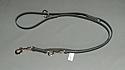 Lesa de dresaj ajustabila din piele 16x1600mm carabina obisnuita
