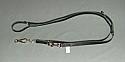 Lesa pentru dresaj ajustabila din piele 20X2400mm carabina in foarfeca